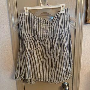 🔥 Old navy stripe a line skirt 16